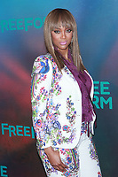NEW YORK, NY - APRIL 19: Tyra Banks at The 2017 Freeform Upfront in New York City on April 19, 2017. <br /> CAP/MPI/DIE<br /> &copy;DIE/MPI/Capital Pictures