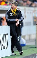 Fussball, 2. Bundesliga, Saison 2011/12, SG Dynamo Dresden - FC Energie Cottbus, Sonntag (11.12.11), gluecksgas Stadion, Dresden. Dresdens Trainer Ralf Loose.