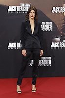 Cobie Smulders attending the &quot;Jack Reacher: Never Go Back&quot; (german title: &quot;Jack Reacher: Kein Weg zurueck&quot;) premiere held at CineStar, Sony Center, Potsdamer Platz, Berlin, Germany, 21.10.2016. <br /> Photo by Christopher Tamcke/insight media /MediaPunch ***FOR USA ONLY***
