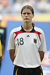 09 August 2008: Kerstin Garefrekes (GER).  The women's Olympic soccer team of Germany defeated the women's Olympic soccer team of Nigeria 1-0 at Shenyang Olympic Sports Center Wulihe Stadium in Shenyang, China in a Group F round-robin match in the Women's Olympic Football competition.