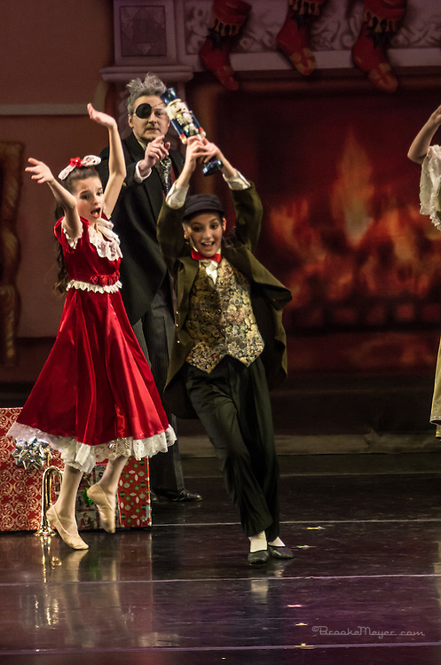 "Cary Ballet Company, ""Visions of Sugarplums"", Sunday, 21 Dec. 2014, Cary Arts Center, Cary, North Carolina."