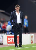 FUSSBALL   INTERNATIONAL   UEFA EUROPA LEAGUE   SAISON 2013/2014    Qualifikation Grasshopper Club Zuerich - AC Florenz      22.08.2013  Trainer Michael Skibbe (Grasshopper)