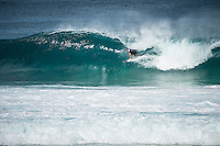 Pipeline, North Shore of Oahu, Hawaii Friday December 19 2014) Kelly Slater (USA) eliminated from the 2014 world title race.- The final stop of the 2014  World Championship Tour, the Billabong Pipe Masters in Memory of Andy Irons, was  ccompleted today in NW double overhead surf. <br /> Gabriel Medina (BRA) became the first ever Brazilian World Champion after both rival contenders , Kelly Slater (USA) and Mick Fanning (AUS) were eliminated from the contest. Medina went onto finish 2nd overall behind Julian Wilson (AUS). <br /> In the overlapping heat format Wilson surf three consequent heats and still had enough entry to take out the 30 minute final.<br /> By winning the final Wilson also won the covered Vans Triple Crown of Surfing for best overall performance through the whole Triple Crown.<br /> <br /> The Billabong Pipe Masters in Memory of Andy Irons will determine this year&rsquo;s world surfing champion as well as those who qualify for the elite tour in 2015. As the third and final stop on the Vans Triple Crown of Surfing Series  the event will also determine the winner of the revered three-event leg.<br /> <br />  Photo: joliphotos.com