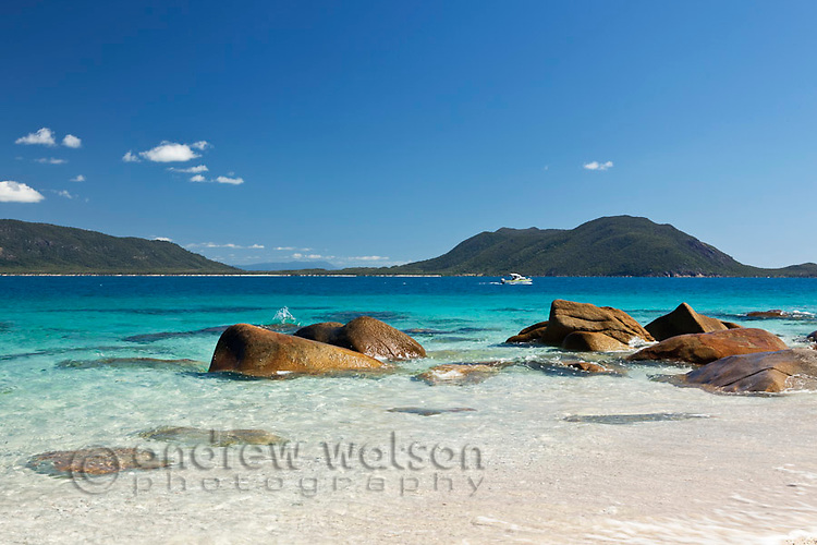 Clear waters of Nudey Beach.  Fitzroy Island National Park Cairns, Queensland, Austtralia