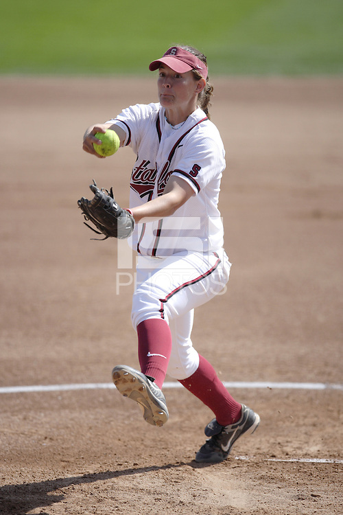 24 March 2007: Missy Penna during Stanford's 3-0 win over Long Beach State at Boyd and Jill Smith Family Stadium in Stanford, CA.