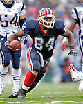 22 October 2006: Buffalo Bills tight end Robert Royal (84) in action against the New England Patriots at Ralph Wilson Stadium in Orchard Park, NY. The Patriots defeated the Bills 28-6. Mandatory Photo Credit: Ed Wolfstein Photo.<br />