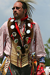 Native American at the 8th Annual Red Wing PowWow in Virginia Beach, Virginia