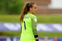 Piscataway, NJ - Saturday May 20, 2017: Kailen Sheridan during a regular season National Women's Soccer League (NWSL) match between Sky Blue FC and the Houston Dash at Yurcak Field.  Sky Blue defeated Houston, 2-1.