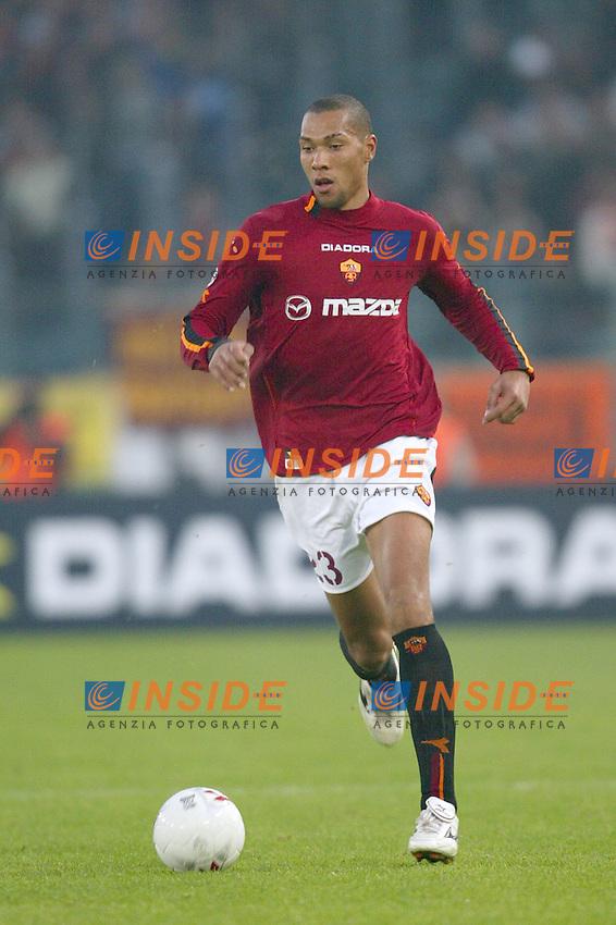 Roma 30/11/2003 <br /> Roma Lecce 3-1<br /> John CAREW<br /> Foto Andrea Staccioli Insidefoto