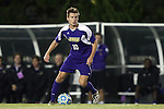20 November 2014: James Madison's Jonathan Barden (ENG). The University of North Carolina Tar Heels hosted the James Madison University Dukes at Fetzer Field in Chapel Hill, NC in a 2014 NCAA Division I Men's Soccer Tournament First Round match. UNC won the game 6-0.