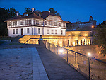 Institute for the protection of Cultural Monuments, Kalemegdan Fortress, evening, Belgrade, Serbia
