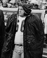 Washington Redskin lineman #68 on sideline during playoff game against the San Francisco 49ers. Dec 26,1971, (photo/Ron Riesterer)