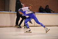 SCHAATSEN: DEVENTER: IJsbaan De Scheg, 16-10-2016, Holland Cup, Chris Huizinga, ©foto Martin de Jong