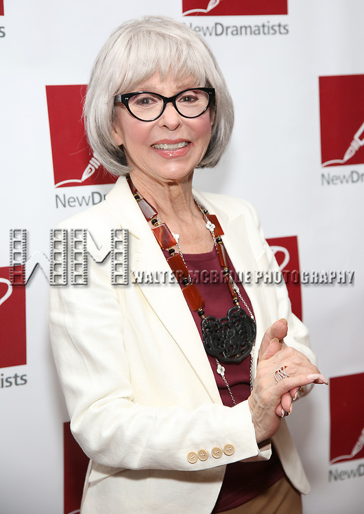 Rita Moreno attends The New Dramatists' 68th Annual Spring Luncheon at the Marriott Marquis on May 16, 2017 in New York City.