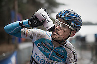 Kevin Pauwels (BEL/Marlux-NapoleonGames) post-finish<br /> <br /> elite men's race<br /> Krawatencross Lille 2017