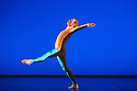 """Michael Clark Company in a piece set to """"Albatross"""" by Public Image Limited, at the Barbican. Dancers are: Harry Alexander, Julie Cunningham, Melissa Hetherington, Oxana Panchenko, Daniel Squire and Benjamin Warbis.  Picture shows: Daniel Squire. Photograph © Jane Hobson."""