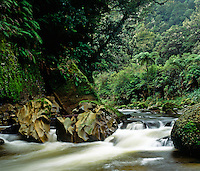 Weathered Limestone boulders in the remote <br />