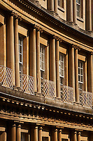Detail of the Bath Circus architecture.