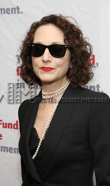 Bebe Neuwirth attends The Actors Fund Annual Gala at the Marriott Marquis on 5/8//2017 in New York City.