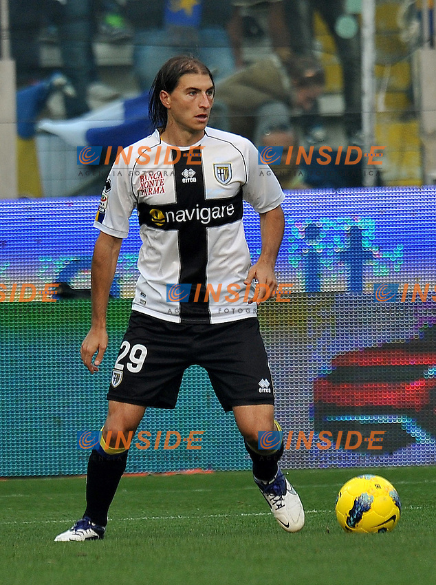 "Gabriel PALETTA (Parma).Parma 30/10/2011 Stadio ""Ennio Tardini"".Serie A 2011/2012.Football Calcio Parma Vs Cesena.Foto Insidefoto Alessandro Sabattini."