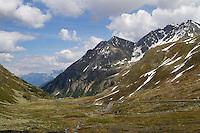 Fluela Pass, near Davos, Switzerland