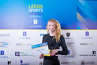 Picture by Allan McKenzie/SWpix.com - 07/03/2017 - Commercial - Leeds Sports Awards 2017 - First Direct Arena, Leeds, England - Young Sportwoman of the year Highly Commended goes to Georgia Coates.