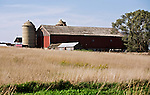 A collection of Barns that still can be seen while traveling the countryside in  the beautiful State of Wisconsin.<br /> Dodge County- Barn Hwy 33 and Town Hall Rd.