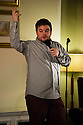 Harrogate, UK. 09.01.2013. Sitting Room Comedy Club, at the St George Hotel, plays host to MC Tom Taylor, Lloyd Griffiths, Carly Smallman and Mike Gunn for the January show. Picture shows: Lloyd Griffith. Photo credit: Jane Hobson.