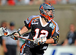 23 August 2008: Denver Outlaws' Midfielder Peter Striebel in action against the Los Angeles Riptide during the Semi-Finals of the Major League Lacrosse Championship Weekend at Harvard Stadium in Boston, MA. The Outlaws edged out the Riptide 13-12, advancing to the upcoming Championship Game.. .Mandatory Photo Credit: Ed Wolfstein Photo