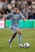 Matt Besler Sporting KC...Sporting KC were held to a scoreless tie with Chicago Fire in the inauguarl game at LIVESTRONG Sporting Park, Kansas City, Kansas.