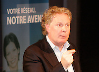 Jean Charest, Quebec Premier - Premier Ministre du Quebec<br /> Photo : Delphine Descamps  (c) 2006 Images Distribution