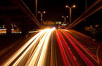 I-35 Light Streaks in Downtown Austin