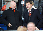 St Johnstone v Dundee United...19.04.14    SPFL<br /> Stephen Thompson and Jackie McNamara<br /> Picture by Graeme Hart.<br /> Copyright Perthshire Picture Agency<br /> Tel: 01738 623350  Mobile: 07990 594431