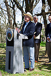 "U.S. Secretary of the Interior.Ken Salazar speaking from podium..Event: Secretary of the Interior Ken Salazar.in Austin to give a speech on ""The State of the Birds""..Zilker Park Rose Garden,.Austin, Travis Co., Texas.11 March 2010"
