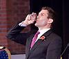 UKIP <br /> Leadership hustings <br /> at the Emanuel Centre, London, Great Britain <br /> 1st November 2016 <br /> <br /> the first leadership hustings before the election on 28th November 2016 <br /> <br /> <br /> <br /> John Rees-Evans<br /> <br /> <br /> <br /> <br /> <br /> Photograph by Elliott Franks <br /> Image licensed to Elliott Franks Photography Services