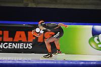 SCHAATSEN: HEERENVEEN: 24-10-2014, IJsstadion Thialf, Trainingswedstrijd, Jorrit Bergsma, ©foto Martin de Jong