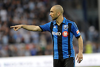 KANSAS CITY, KS - June 1, 2013:<br /> Marco Di Vaio (9) forward Montreal Impact .<br /> Montreal Impact defeated Sporting Kansas City 2-1 at Sporting Park.