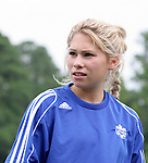 29 July 2006: Amanda Cicchini (CAN). The Canada Women's National Team trained at SAS Stadium in Cary, North Carolina, in preparation for an International Friendly match against the United States to be played on Sunday, July 30.
