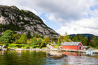 Tysvær, Norway. The island of Borgøy.
