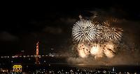 Golden Gate Bridge 75th Anniversary Fireworks | San Francisco, CA