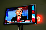 Las Vegas, Nevada, USA, 20080115: MSNBC hosts a debate between the Democratic Presidential Hopefuls at the Cashman Center.<br />