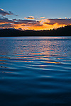 Gold Lake Sunrise, Sierra County, Northern California.