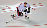 24 January 2009: Anaheim Ducks center Ryan Getzlaf participates in the NHL Fan Fav Breakaway Challenge collecting an 11.5% Fan Vote in the NHL SuperSkills Competition, part of the All-Star Weekend at the Bell Centre in Montreal, Quebec, Canada. ***** Editorial Sales Only ***** Mandatory Photo Credit: Ed Wolfstein Photo