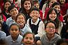 Houston Texans defensive end J.J. Watt reads to students at Neff Elementary School, April 29, 2014.