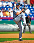10 March 2009: New York Mets' pitcher Ron Villone on the mound during a Spring Training game against the Washington Nationals at Space Coast Stadium in Viera, Florida. The Nationals and Mets tied 5-5 in the 10-inning Grapefruit League matchup. Mandatory Photo Credit: Ed Wolfstein Photo