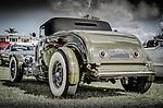 Vintage retro classic car