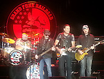 Grand Funk Railroad performing live at Orleans Casino April 20, 2013. Don Brewer,Mel Schacher,<br /> Max Carl<br /> <br /> Bruce Kulick
