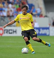 FUSSBALL   1. BUNDESLIGA  SAISON 2011/2012   2. Spieltag   13.08.2011 TSG 1899 Hoffenheim - Borussia Dortmund  Mats Hummels (Borussia Dortmund)