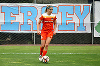 Piscataway, NJ - Saturday May 20, 2017: Morgan Brian during a regular season National Women's Soccer League (NWSL) match between Sky Blue FC and the Houston Dash at Yurcak Field.  Sky Blue defeated Houston, 2-1.