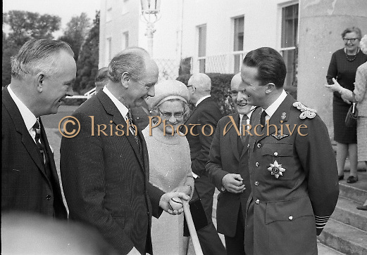 Belgian Royal Visit -  King Baudouin and Queen Fabiola  on a  three-day state visit to Ireland..14-17.05.1968